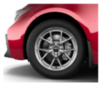 Corolla Alloy Wheels - Silver - Toyota (PK457-12L01)