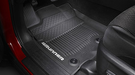All Weather Floor Liners  Tubstyle Black 3pc - Toyota (PT908-89160-02)