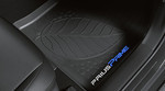All Weather Floor Liners Prius Prime Black