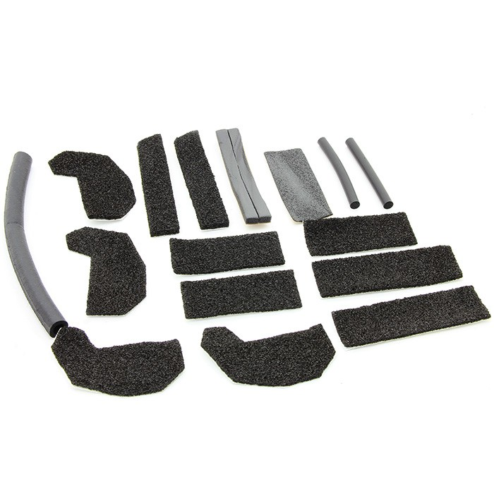 JEEP WRANGLER HARDTOP FOAM BLOCKER SEAL KIT WRANGLER UNLIMITED JK - MOPAR (68026937AB) - Mopar (68026937AB)