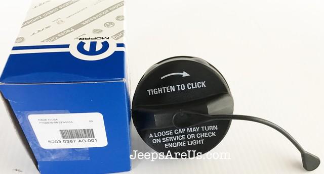Mopar Part 52030387AB Fuel Filler Cap