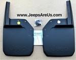 JEEP WRANGLER FRONT DELUXE MOLDED SPLASH GUARDS SET 2 - MOPAR - Mopar (82210233)