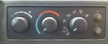 Air Conditioning Control - Mopar (55056569AE)