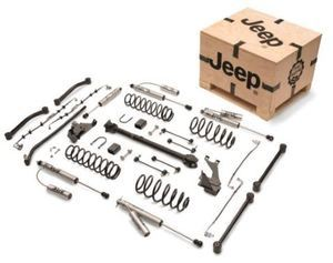 Jeep 4 inch Lift Kit with Fox Shocks Mopar - Mopar (77072353AC)