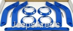 WRANGLER INTERIOR TRIM KIT - COSMOS BLUE - Mopar (82212839)