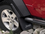 Jeep Wrangler JK 2007-2018 Splash Guards ALL 4 - Mopar (82210232_0233)
