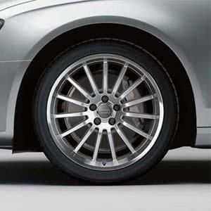 18 15-Spoke Alloy Wheel - Audi - Volkswagen (8K0-071-498-1ZL)