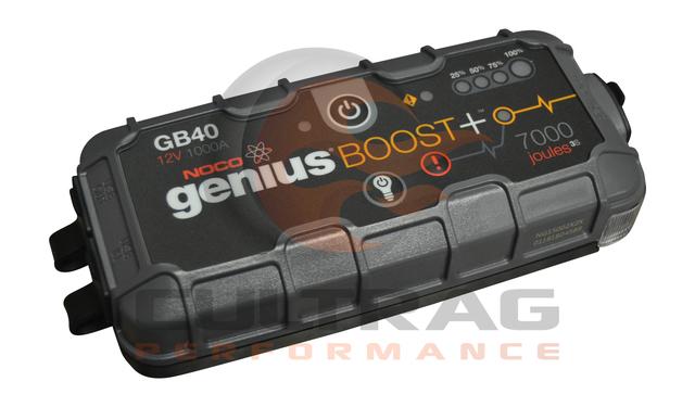 NOCO Genius Boost Plus GB40 1000 Amp 12V UltraSafe Lithium Jump Starter - GM (19366935)