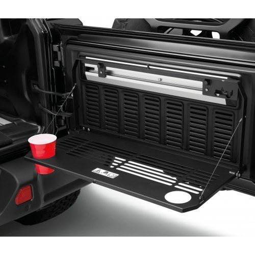 Official Jeep Accessories: Mopar Genuine Jeep Wrangler Tailgate Table 82215416AB