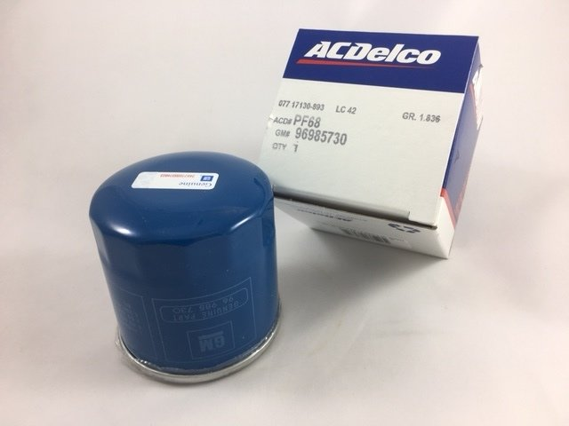 Oil Filter - GM (96985730)