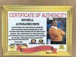 Don Shula Autographed Photo with Super Bowl Replica Rings - Sports Memoribilia (DON-SHU-PHO-RIN)