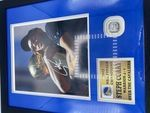 Steph Curry Golden State Warriors Autographed Photo w/Ring - Sports Memoribilia (STE-WAR-PHO-RIN)