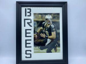 Drew Brees New Orleans Saints Autographed Photo - Sports Memoribilia (DRE-SAI-PHO)