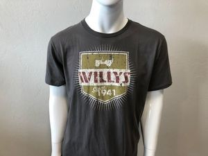 MENS WILLY'S LOGO TSHIRT - Jeep (121KR)
