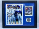 Chicago Cubs Baez, Rizzo, Zobrist & Bryant Autographed Photo W/Ring - Sports Memoribilia (WOR-BAE-RIN)