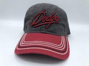 DODGE CHARCOAL TWILL CAP - DODGE (11AK2)