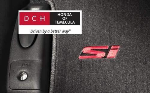 2007- 2010 HONDA CIVIC SI 4(DR) FLOORMATS NEW OEM GENUINE - Honda (83600-SNX-A01ZA)