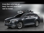Mazda CX-9 Crossbars (Roof Rack Required)