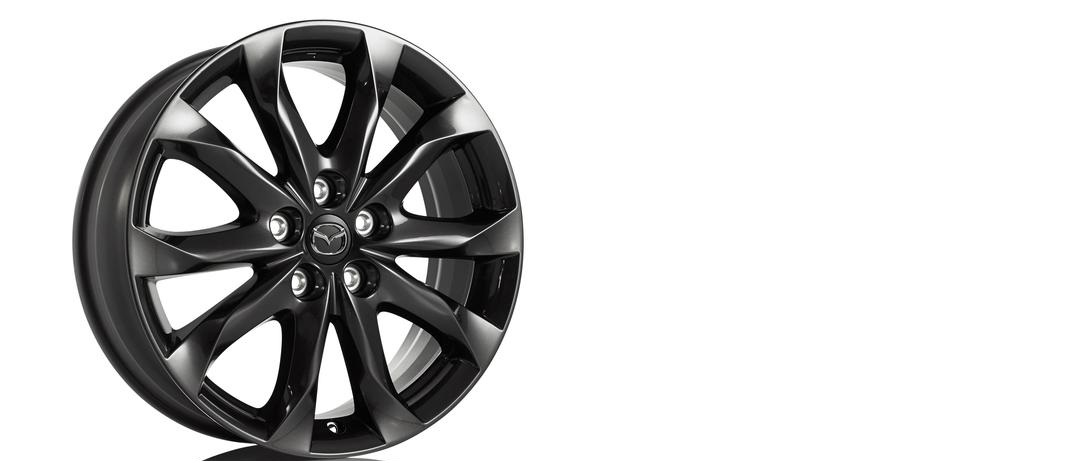 "18"" Wheel, Alloy, Gunmetal - Mazda (B45B-V3-810)"