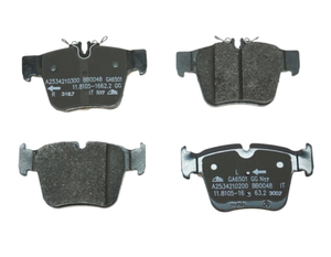 Rear Disk Brake Pads - Mercedes-Benz (000-420-59-00)