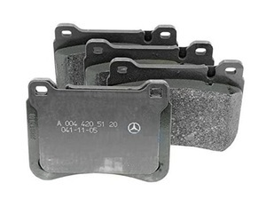 Front Disk Brake Pads - Mercedes-Benz (004-420-51-20-41)