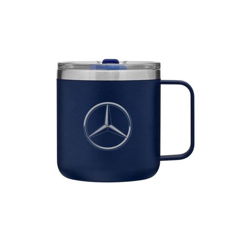 Travel Mug (Blue) - Mercedes-Benz (1443356-00)