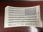 American Flag Decal, Right - Mopar (68500062AA)