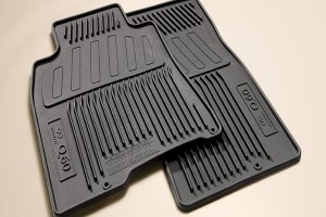 Floor Mats, All Weather, Black - Infiniti (999E1-J2100)
