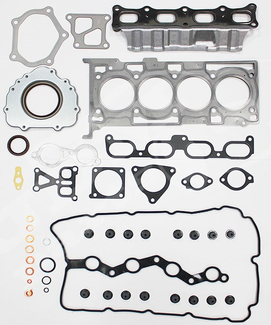 Genuine Mitsubishi 2008 - 2015 Lancer Evolution X 4B11 Turbo Engine Gasket Kit EVO 10 - Mitsubishi (1000B338)