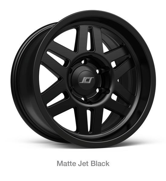 "20"" MATTE BLACK STEALTH 6 - Toyota (BLACK-STLTH6-20)"