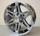 Tacoma PVD Chrome Alloy Wheel, 17 x 8