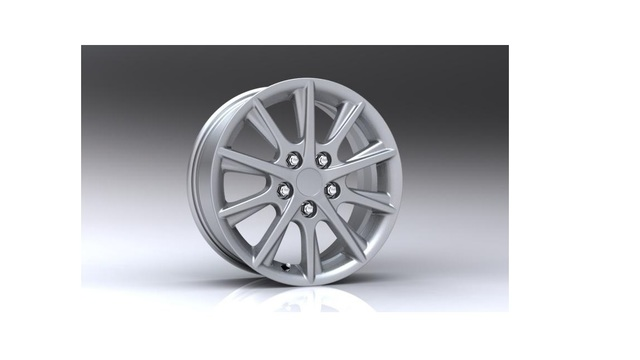 "12 CAMRY 16"" SILVER ALUM WHEEL BOXED - Toyota (00012-91254-01)"