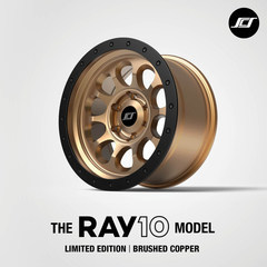 "17"" BRUSHED COPPER RAY10 - Toyota (COPPER-RAY10-17)"