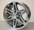 Tacoma 2013 PVD Chrome Alloy Wheel, 17 x 8
