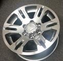 Tacoma Alloy Wheel, 17x8 Tacoma Graphite(Gunmetal Diamond Cut)