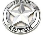 Texas Edition Chrome badge