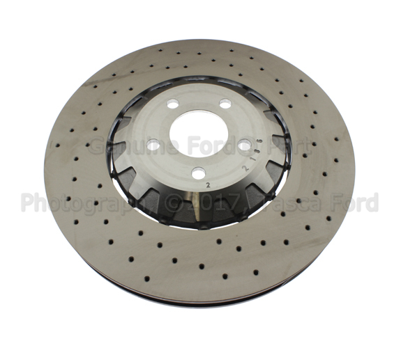 Disc Brake Rotor - Driver's Side (LH) - Ford (FR3Z-1125-F)