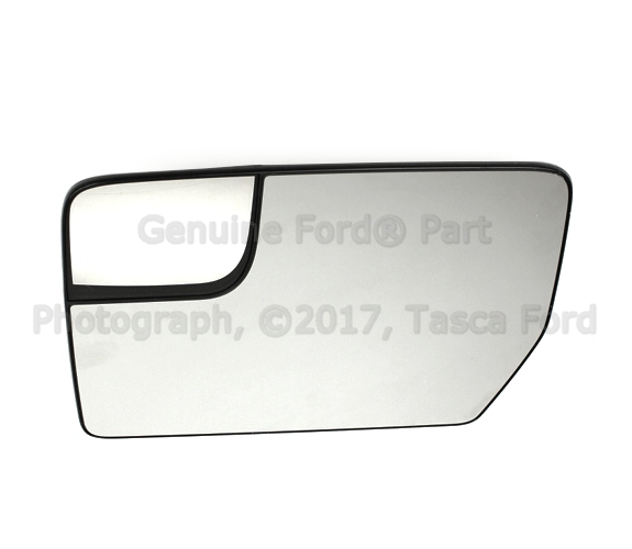 SCITOO Left Side Mirror Glass Power Adjustment Heated Fit for 2004-2010 Ford F-150 Lincoln Mark LT FO1324109