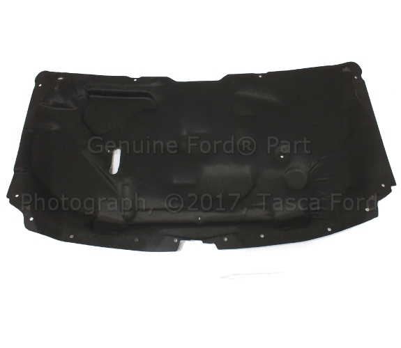 FORD OEM F-250 Super Duty Hood-Insulation Pad Liner Heat Shield F81Z16738AA