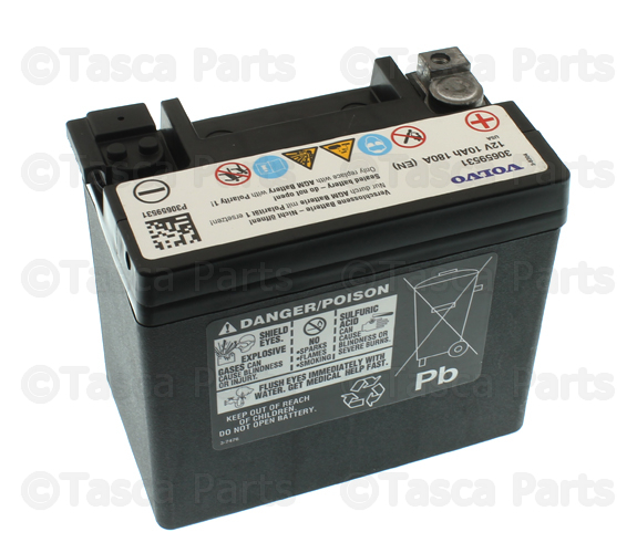 2016 2020 volvo vehicle battery 30659531 tascaparts com vehicle battery
