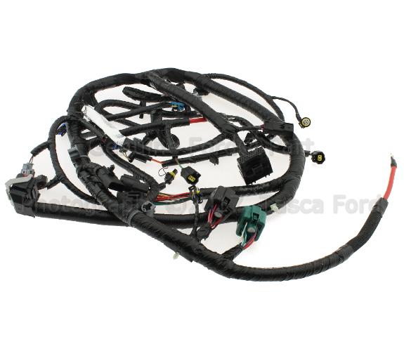 Oem Ford Engine Wiring Harness 4c3z12b637ca Tascaparts Com