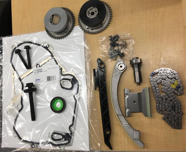 LNF Timing Chain Kit - GM (LNF Timing Chain Kit)
