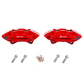 Rear 4-Piston Brembo(R) Brake Calipers In Red