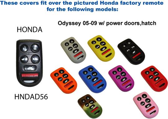 Keyless Remote Cover - Honda (HNDAD56)