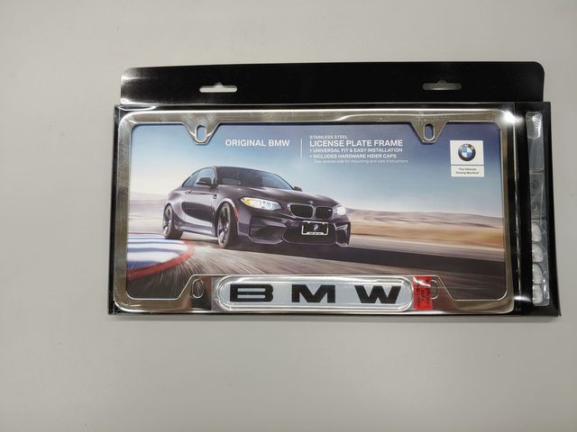 License Plate Frame - Polished Finish - BMW (82-12-0-010-395)
