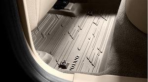 Floor Mats - Rubber - Soft Beige - Volvo (31426163)