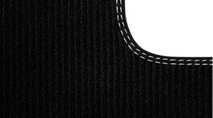 Floor Mats - Textile - R-Design - Off Black - Volvo (31426037)