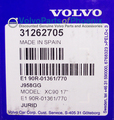 Brake Pad Kit - Volvo (31687101)