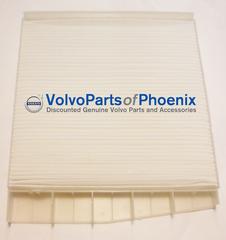NEW GENUINE VOLVO CABIN POLLEN AIR FILTER 2005-2013 S60 V70 V70XC XC70 XC90 - Volvo (30630752)