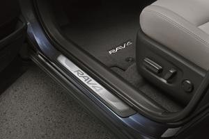 TOYOTA RAV4 2015-2018 ALUMINUM KICK PLATE DOOR SILL PLATE ENHANCEMENTS - Toyota (PU060-42141-P1)